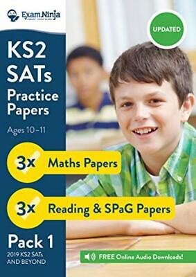 2019 KS2 SATs Practice Papers - Pack 1 (English Reading, SPaG & Maths) Inc....