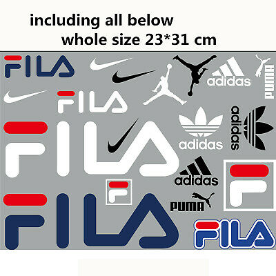 mixed lots Sports NIKE Champion Logo Iron on Heat Transfer Patches DIY for Cloth Sewing Embellishments & Finishes Patch