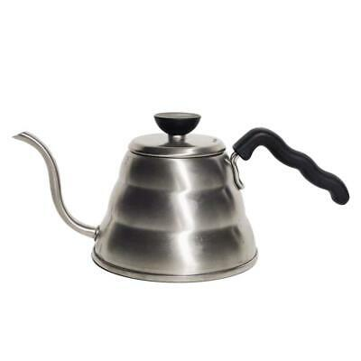 Hario Small Stainless Steel Buono V60 Pourover Kettle Steel, 1 Litre, Pack of 1