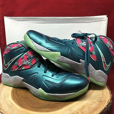 check out 2eea1 177d6 Nike Lebron Zoom Soldier VII 7 Power Couple Size 14 South Beach 599264 300  VIII