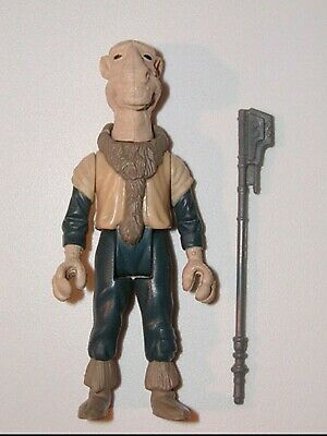 Vintage Star Wars Figure Yak Face with weapon REPRO