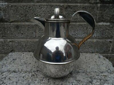 Antique silver plated water jug - arts & crafts Victorian jug - stylish vintage