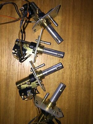 4 x Technics TurnTable Pop Up stylus Target Lamp Light Assembly. Free shipping