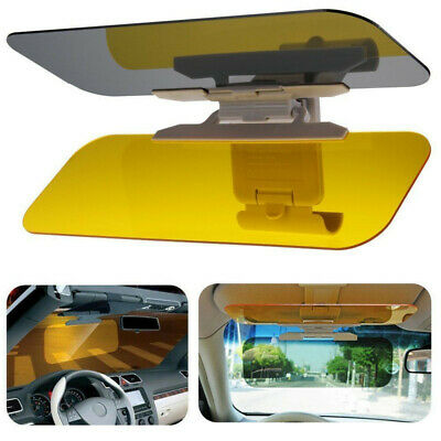 Car Anti-Glare Dazzle Goggle Mirror Day/Night Driving Sun Visors Extension Gjt