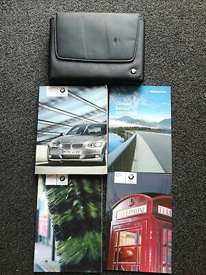 BMW 3 SERIES COUPE & CONVERTIBLE WITH iDrive HANDBOOKS AND WALLET 2007