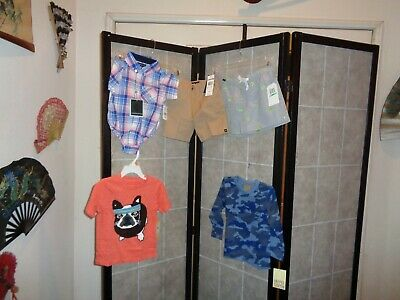 NORDSTROM Baby Boy's T-Shirt & Shorts - Sz 6-24 Mths by Andy & Evan + More  NWT