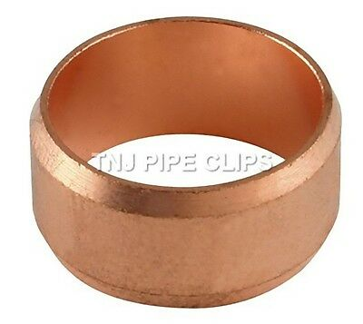 15mm Copper Compression Olives - Diff Qtys 1, 2, 5, 10, 15, 20, 25, 50, 100