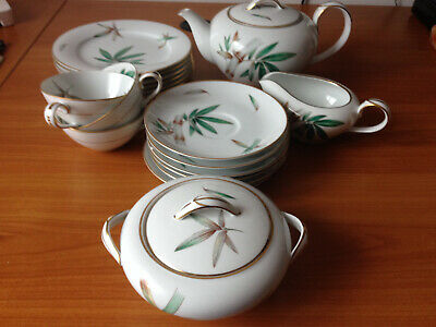 For Collectors: Porzellan China - Japan Noritake 5565 (Bamboo)