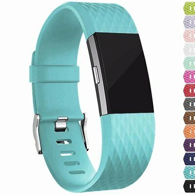 For Fitbit Charge 2 Replacement Wristband Wrist Strap Smart Watch Band Lavender