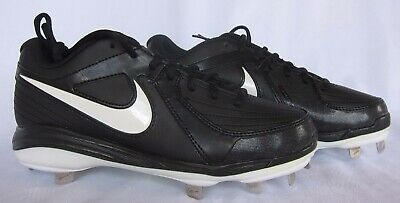 8f7a1125c2dcc Nike Womens Unify Pro Metal Fastpitch Softball Cleats Black/White Size 7