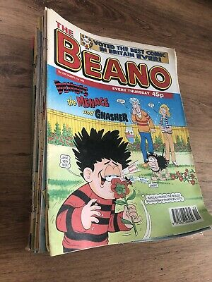 THE BEANO COMIC - 46 ISSUES from 1998