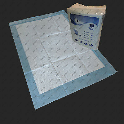 Premium Disposable Incontinence Pads (SAP) / Bed Mattress Protector / 60 x 90 cm