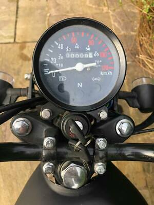 Honda CG125 Bobber kit with twin cam 50cc for classic race bike conversion