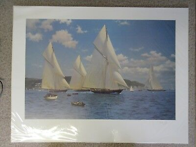 J.Steven Dews, An Opportune Breeze from South East Limited Edition Sailing Print