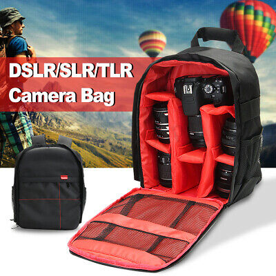 Waterproof DSLR SLR Case Camera Backpack Shoulder Bag For Canon / Nikon /  ❤