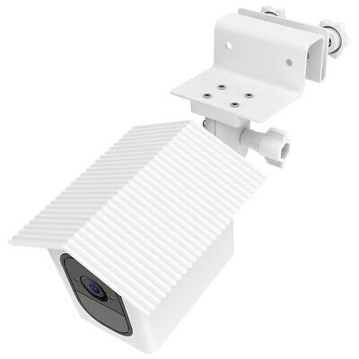 1pc White Gutter Mount Holder + Protect Case for Arlo Pro Security Camera TH1329