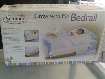 Safety t Child portable bed guard rail (white). Grow with Me BEDRAIL