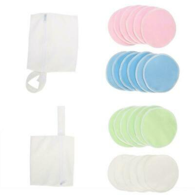 12pcs Reusable Bamboo Baby Feeding Breast Pads Washable Mum Nursing Breastfeed h