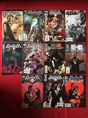 THE PUNISHER ONE SHOT BUNDLE MAX / MARVEL KNIGHTS (11 One Shots)