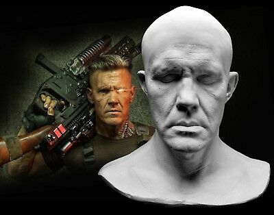 Josh Brolin SPFX Life Mask Lifecast Bust Deadpool 2 Cable Avengers Thanos Goonie