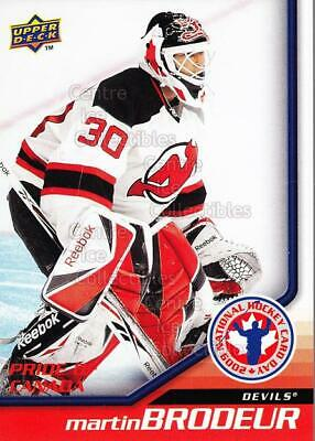 2009 Upper Deck National Hockey Card Day #10 Martin Brodeur