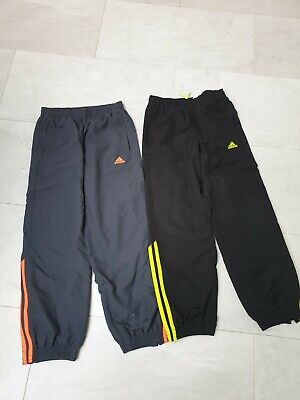2 Pairs of Adidas Lined Boys Joggers, Age 9-10, never worn