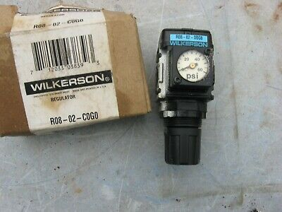 Wilkerson Regulator R08-02-C0G0 0 - 60 Psi