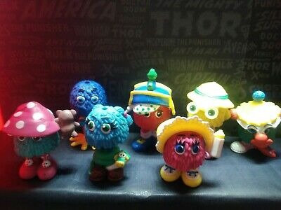 Lot Figurines fry kids funny friends happy meal mac donald's vintage mcdo 80's
