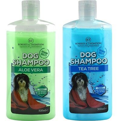 ***Pet Dog Shampoo Aloe Vera &  Tea Tree Shampoo 500ML Suitable for all Dogs***