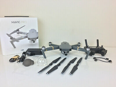 DJI Mavic Pro 4K Video Gray Quadcopter Drone with Remote Controller (32GB)