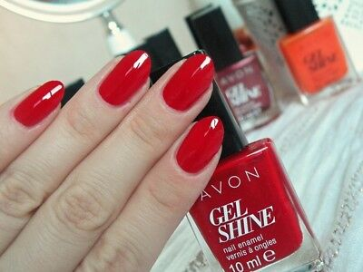 Avon Mark Smalto Effetto Gel Rosso Roses Are Red