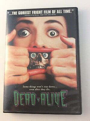 Dead Alive (DVD, 1998, Unrated Version) RARE OOP Peter Jackson FREE SHIPPING
