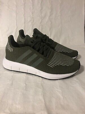 2522321a4 ADIDAS ORIGINALS SWIFT Run PK Primeknit Gray Mens Sneakers Lifestyle ...