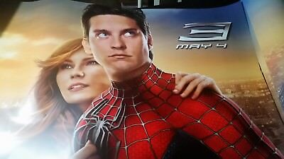 """The Amazing SPIDER-MAN 3  60""""x46""""theater movie  PROMO Poster GIANT SIZE!!!!"""