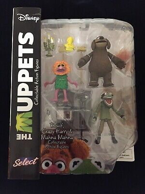 Diamond Muppets Select - Dirty Harry Rowlf Mahna Mahna /Ovp
