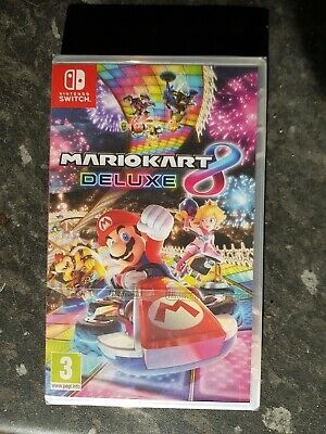 Mario Kart 8 Deluxe - Nintendo Switch - Brand New