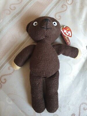 Mr Bean's Teddy TY With Label Collectible
