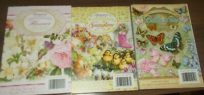 Hunkydory 144 page little book of - flowers,butterflies and springtime
