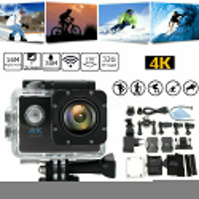 Waterproof 4K SJ9000 Wifi 1080P Ultra Sports Action Camera DVR Cam Camcorder BE