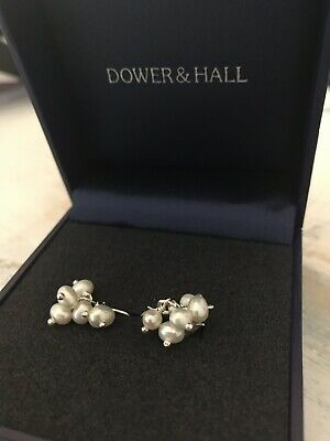 8ca095097 NEW IN BOX Dower & Hall Sterling Silver Seed Pearl Earrings - $52.13 ...