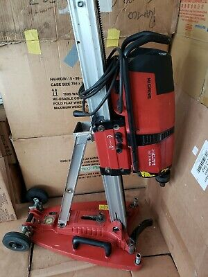 Hilti DD 350-CA Core Drill with rig and suction base. 220v-240v. Used