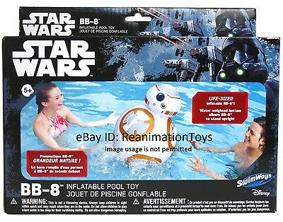 Star Wars The Force Awakens BB-8  Life Size 1:1 Droid Robot Pool Blow Up MISB