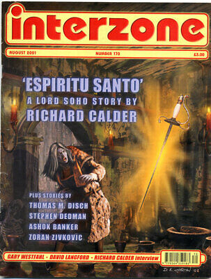 Mag, INTERZONE No.170 August 2001 sci fi fantasy science fiction
