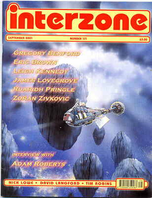 Mag, INTERZONE No.171 August 2001 sci fi fantasy science fiction