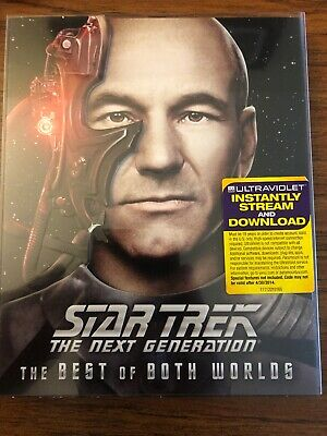 Star Trek: The Next Generation - The Best of Both Worlds (Blu-ray Disc, 2013)