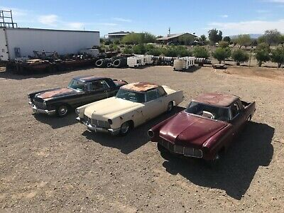 1956 Lincoln Continental  1956 Lincoln Continental Mark II 's  2dr Lot Rare Low Reserve Classic
