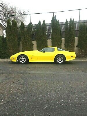 1978 Chevrolet Corvette  1978 Chevrolet Corvette Z87 Yellow Show Car Hot Rod Sports Car Low Reserve
