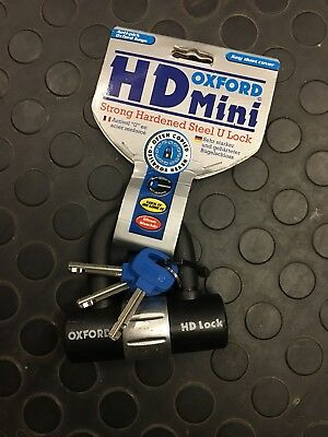 Oxford Mini -t Disc Lock  And HD Mini U Lock TWO LOCK AUCTION BARGAIN