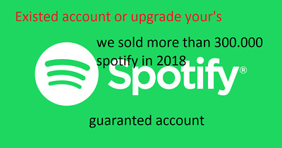 Spotify PREMIUM LIFETIME | Fast Delivery | WORLDWIDE or upgrad spofity