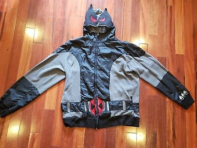 4c1c718d Mad Engine Marvel Stealth Wolverine Hoodie Jacket XL Comic Costume X-Men
